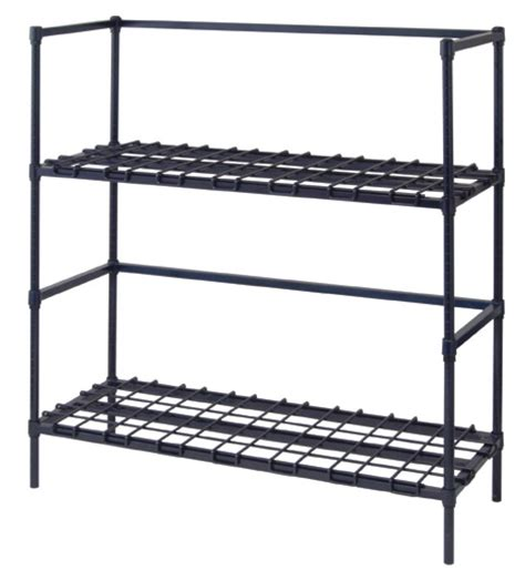 dunnage beverage tank shelving indoff storage bins