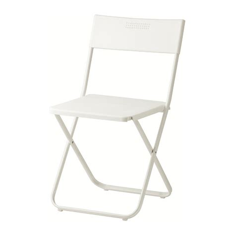 fejan chair outdoor folding white ikea