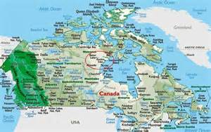 canada on map of world ultima thule baker lake chesterfield inlet rankin inlet