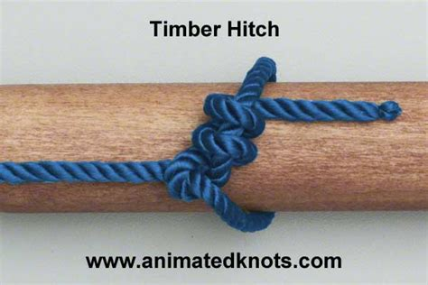 Hitch Knot - timber hitch how to tie a timber hitch knots