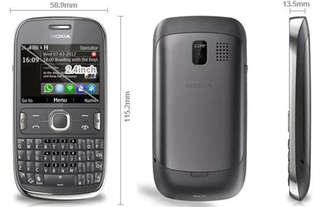 Hp Nokia Keypad Qwerty hp nokia asha 302 baru murah ponsel keypad qwerty media