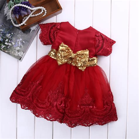 toddler dresses autumn dress floral sleeve princess baby