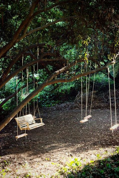 backyard tree swings 25 best ideas about tree swings on childrens