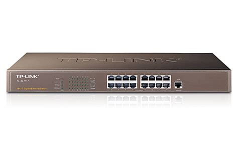 Harga Tp Link Cisco jual switch hub tplink 16 port 1 port gigabit tl sl1117