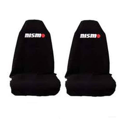 slip on seat covers seat covers nismo nissan slip on throw embroidered axs