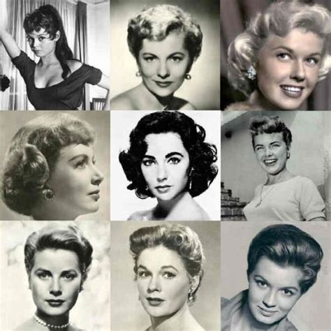 Hairstyles Of The 1950s by 89 Best 1950 S Hairstyles Images On Hairdos
