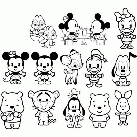 Disney Cuties Coloring Page Coloring Home Disney Cuties Princess Printable