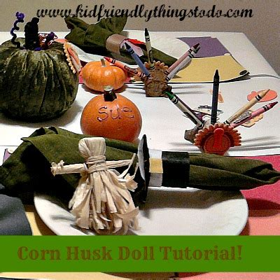 how to make a corn husk doll step by step how to make corn husk dolls