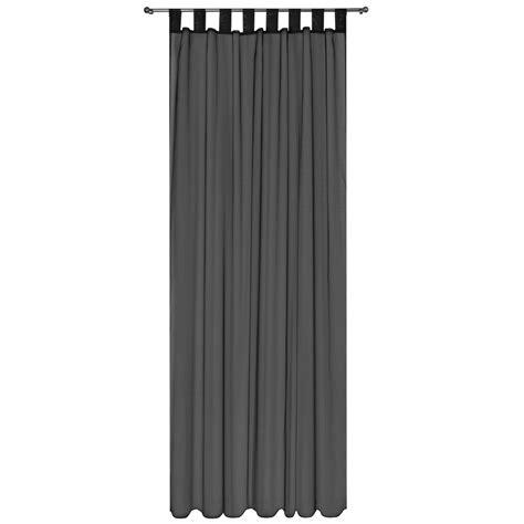 vorhang durchsichtig voile gardine 140x245 schlaufenschal transparent dekoschal