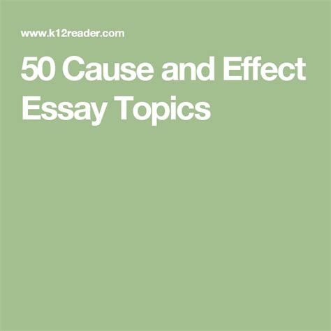 Topics For Cause And Effect Essay by 25 Best Ideas About Cause And Effect Essay On Language Arts Posters Text Structure