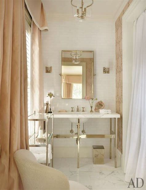 30 Bathroom Color Schemes You Never Knew You Wanted White And Gold Bathroom Ideas