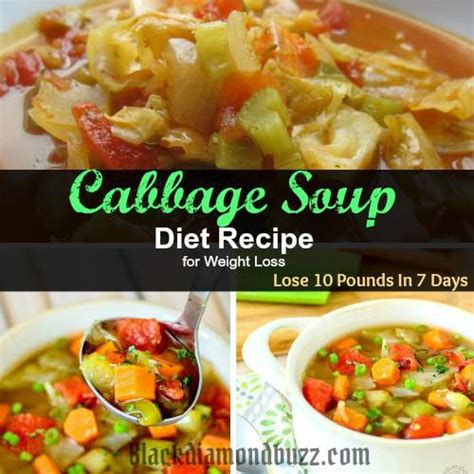 Lose 10 Pounds Fast Detox by Best Cabbage Soup Diet Recipe For Weight Loss Lose 10