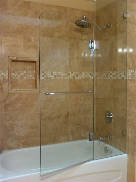 frameless bathtub enclosures frameless shower doors for tub enclosures frameless
