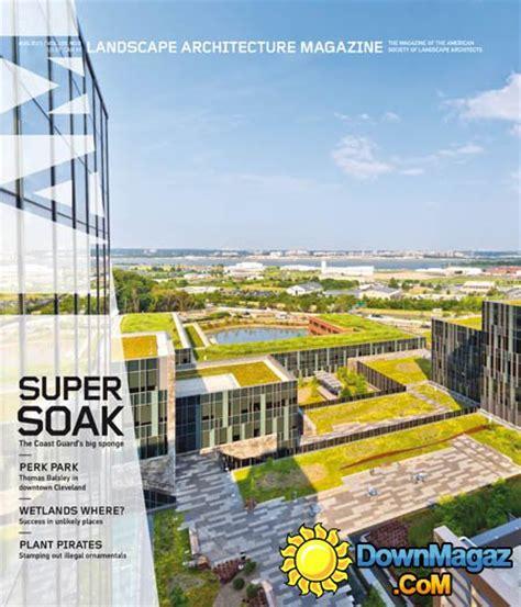 Landscape Architect Usa Landscape Architecture Usa August 2015 187 Pdf