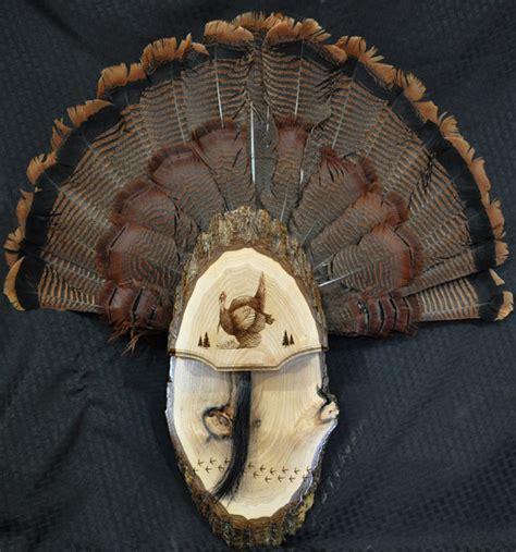 diy turkey fan mount turkey fan turkey hunting turkey fan mount board live