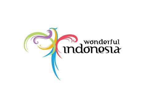 indonesia design agency wonderful indonesia logo logok