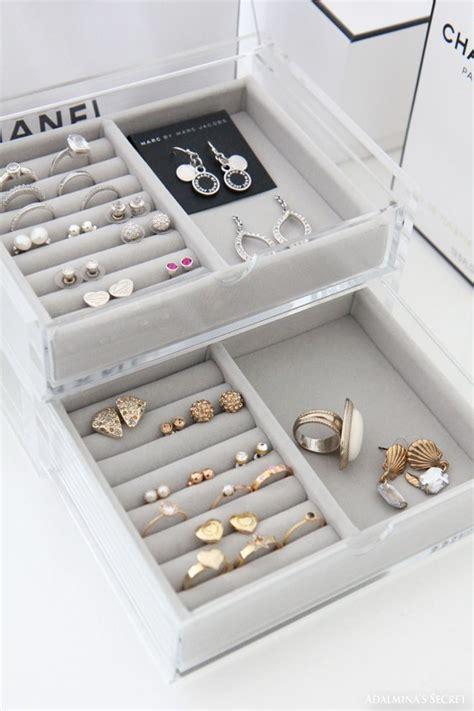 Diy Jewelry Drawer Organizer by Best 25 Jewelry Tray Ideas On Diy Room
