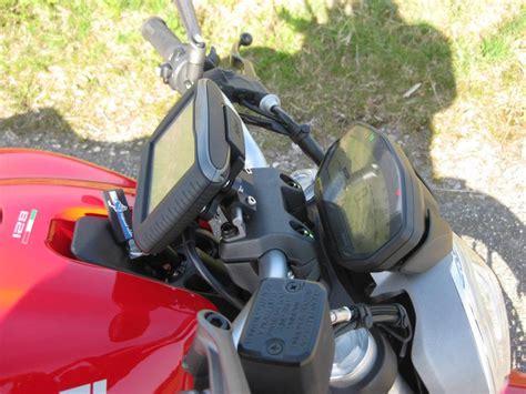 Navi Am Motorrad Montieren by Navi An Der 821 Optik Und Zubeh 246 R Monstercafe