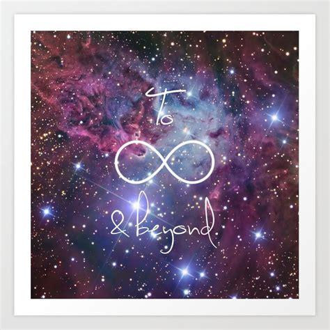 infinity   galaxy nebula art print  rexlambo
