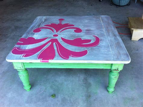 Spray Paint Coffee Table Painted Coffee Table Is Like Modern Fashion Coffee Table Design Ideas