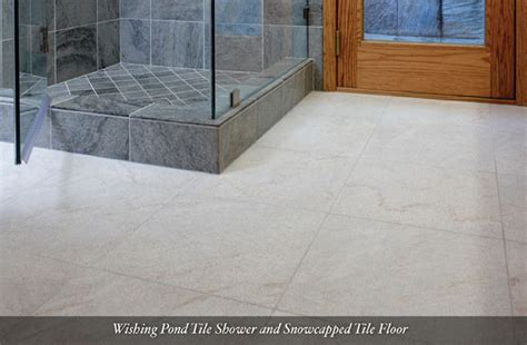 slate bathroom floor tiles american slate wisbing pond tile shower and snowcapped