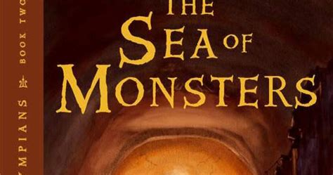 The Sea Of Monsters Cover 8 Th Anniversary Percy J Oleh Rick R kate reads myths book 1 percy jackson and the sea of monsters
