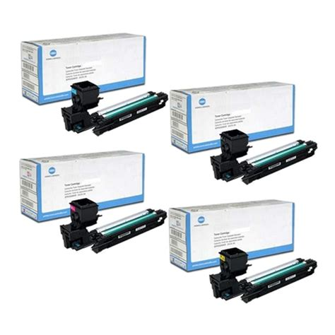 Bt 5000 Magentayellowcyan konica minolta magicolor 3730 toner cartridges black cyan magenta yellow made by konica