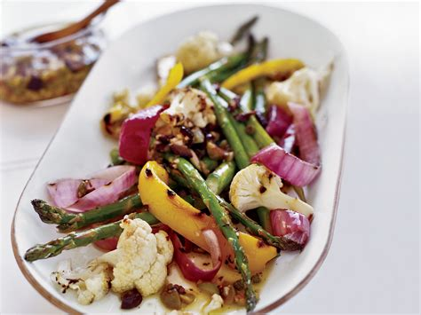 Nstrip Vegethablerovs steak and vegetables with garlicky olivada recipe grace parisi food wine