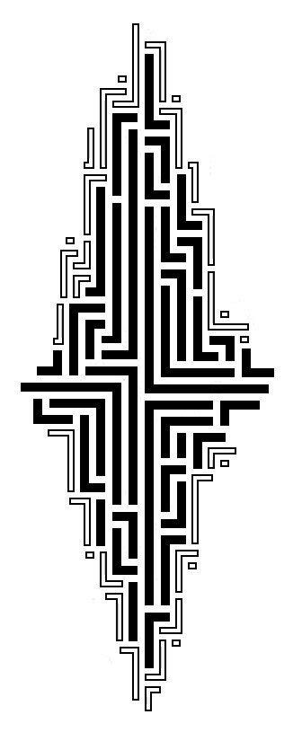 maze tattoo tribal maze cool tattoos maze