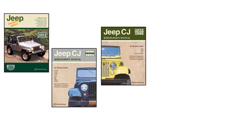 Jeep Technical And Owner Information Bentley Publishers