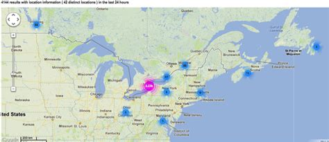 map of eastern usa and canada canada s advanced network alliance digital innovators