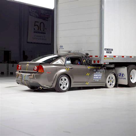 Rear End Crash Tests by Www Chevrolet Malibu Rear End Crash Tests Autos Post