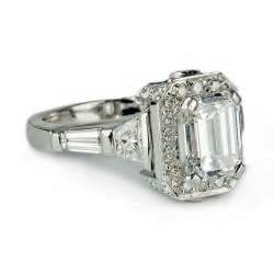 Cheap Engraved Gifts Unique Emerald Cut Engagement Ringswedwebtalks Wedwebtalks