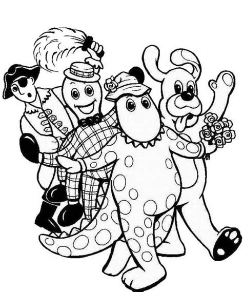wiggles coloring pages az coloring pages
