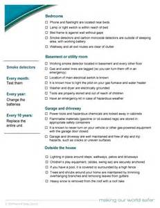 home safety checklist home safety evaluation checklist pictures to pin on