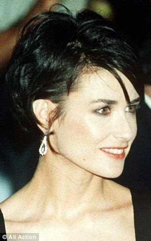 Demi Moore 1997 Haicut | time stands still for demi moore as evergreen actress