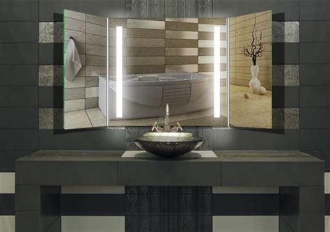 Klapp Badezimmerspiegel by Wandspiegel Badspiegel Quot Alberta Quot Klappspiegel Bad