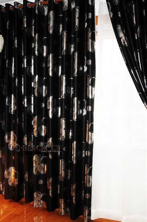 rood zwarte gordijnen zwart woonkamer black
