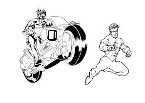 green lantern coloring pages free printable green lantern coloring pages for