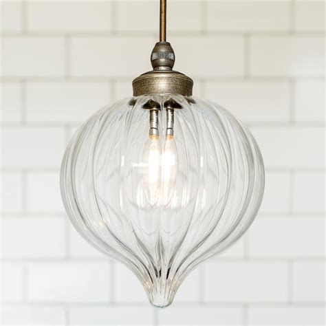 bathroom pendant light fluted glass period