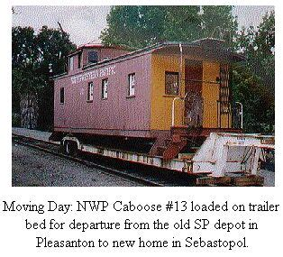 northwestern pacific railroad historical society