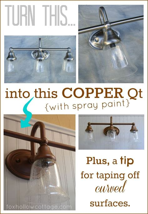 can you spray paint bathroom fixtures 1000 ideas about light fixture makeover on pinterest