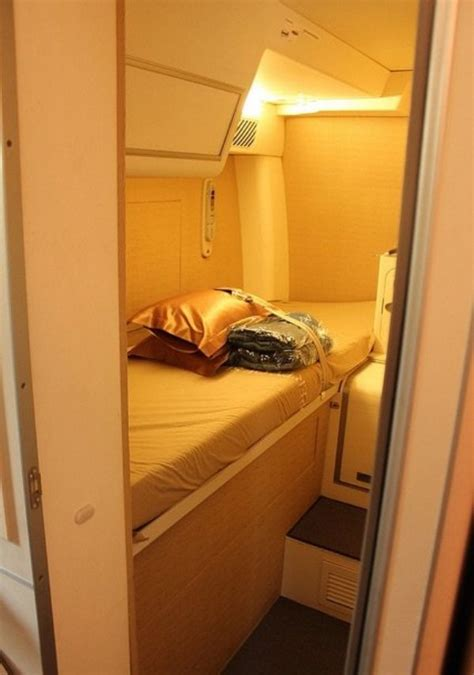 a380 bedroom did you know flight attendants and pilots have secret