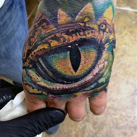tattoo eye reptile top 100 eye tattoo designs for men a complex look closer