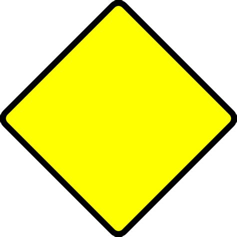free printable road construction signs blank road sign hi png 600 215 600 construction party