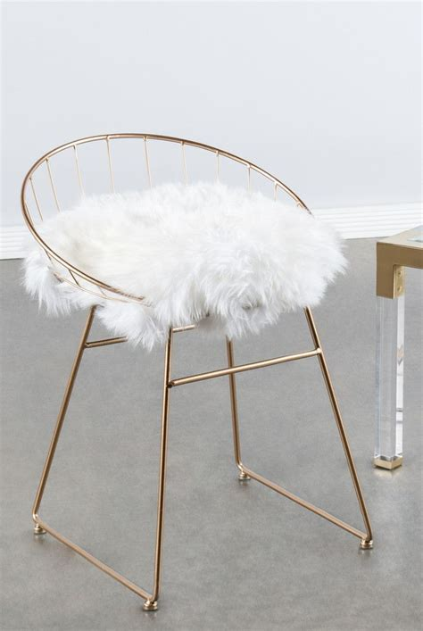 white and gold vanity chair gold vanity chair for your property white and pink leaf