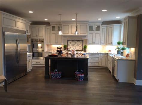 white cabinets with gray glaze white perimeter cabinets with charcoal gray glaze with