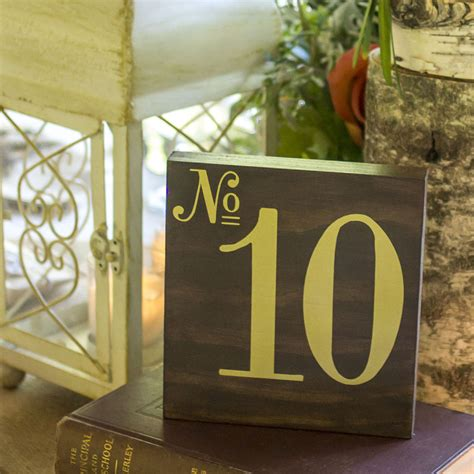 Wedding Table Numbers by Diy Wood Table Numbers For A Wedding Unoriginal