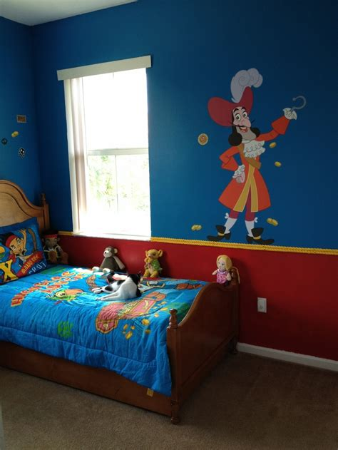 neverland themed bedroom jake and the neverland pirate bedroom ju ju pinterest