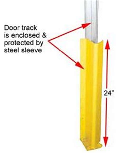 Overhead Door Track Guards 24 Quot H Overhead Dock Door Track Guards Pair